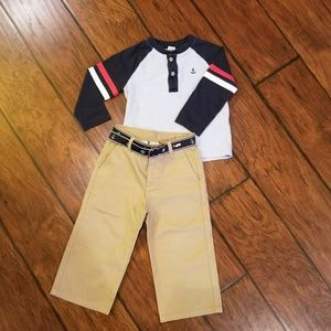 Janie and Jack boys nautical outfit